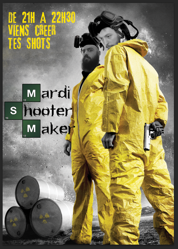 AFFICHE SHOOTER MAKER A4